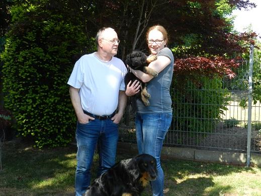 Fiona mit Birgitta und Joachim aus Mönchengladbach