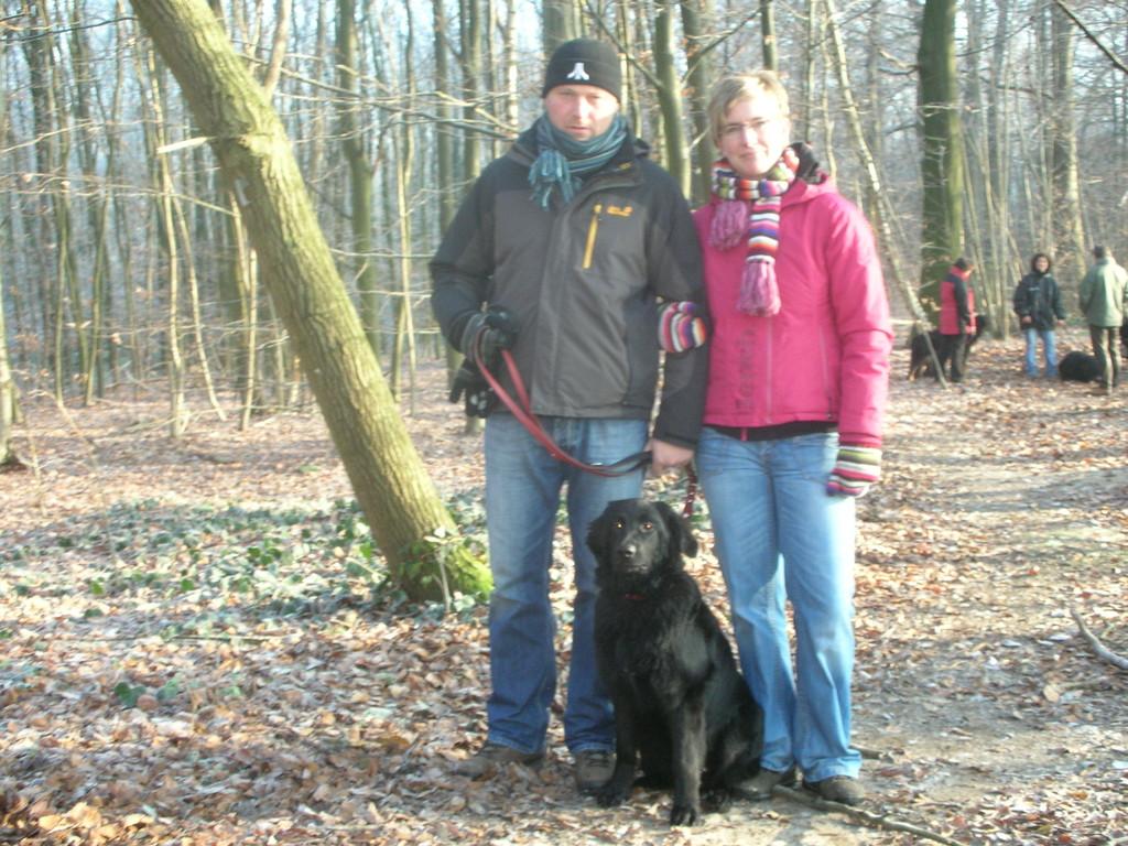 Baxy mit Moni und Thorsten