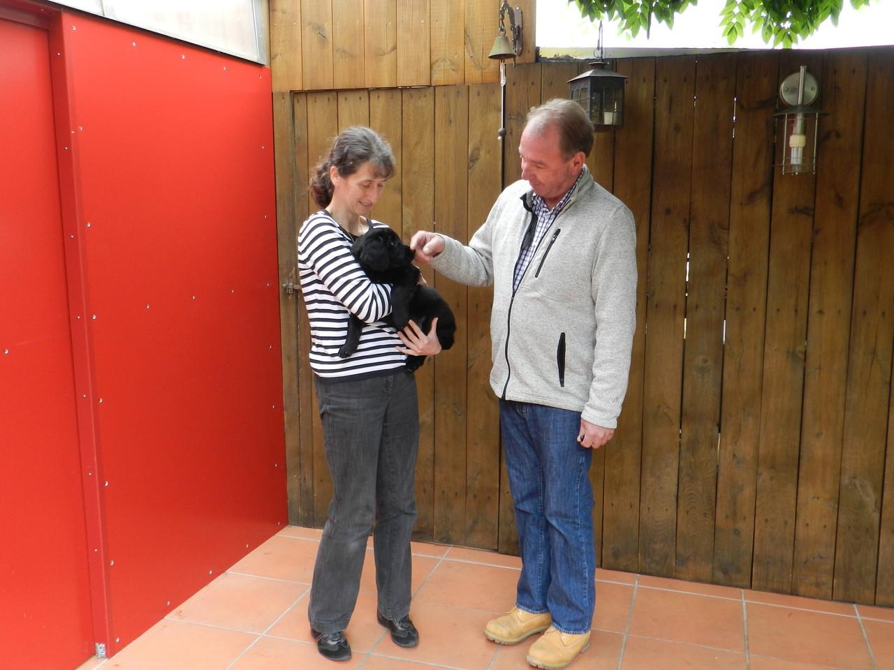 Dajela zieht zu Michaela u. Achim nach Kirchheim/Teck