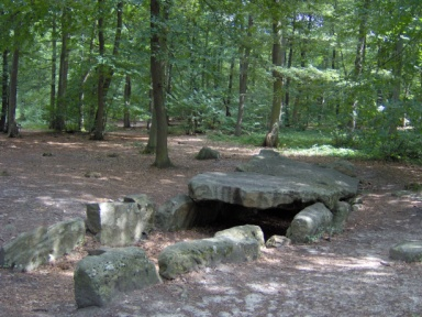 La pierre turquaise, forêt de Carmelle