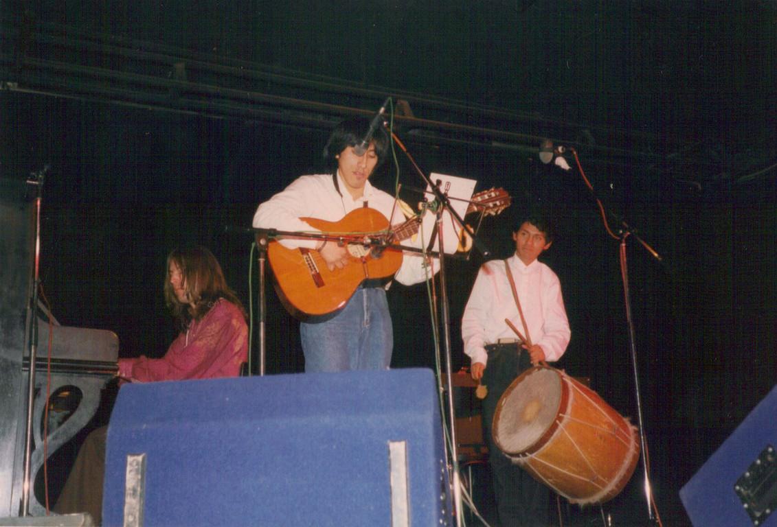 マヌエル(Austria)、ルイス(Peru)、ラファエル(Peru)