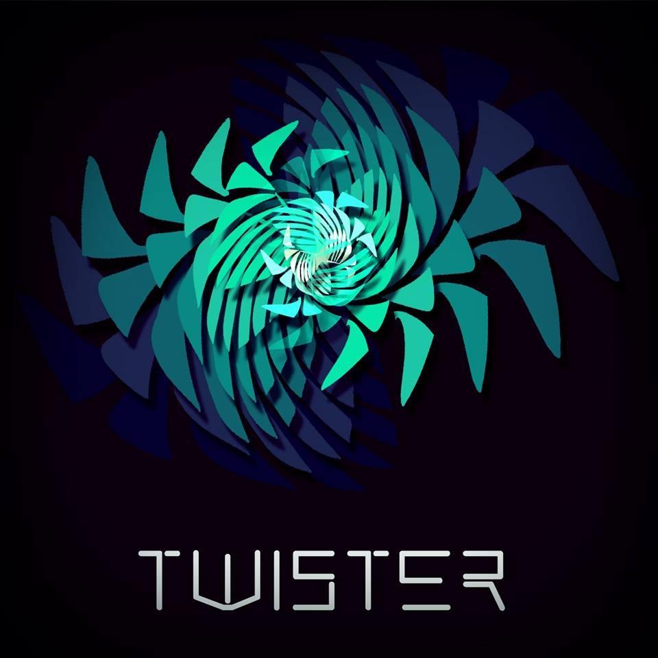 Progettazione grafica per il progetto musicale Lorenzo Lambertini's Twister per cui si è realizzato, il marchio, la cover, e alcune immagini per la copertina di Fb