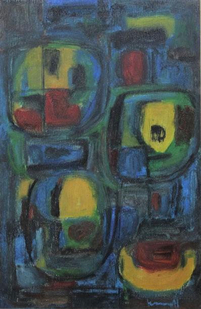 te_koop_aangeboden_een_abstract_schilderij_van_de_nederlandse_kunstenaar_joop_kropff_1892-1979