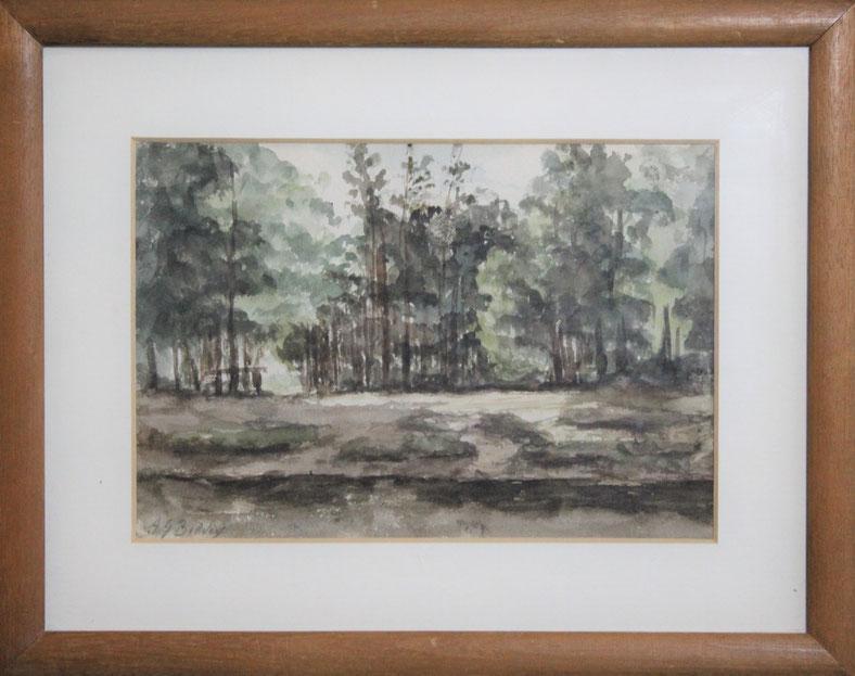 te_koop_aangeboden_een_bosgezicht_van_de_nederlandse_kunstschilder_albertus_gerardus_bilders_1838-1865_veluwse_school
