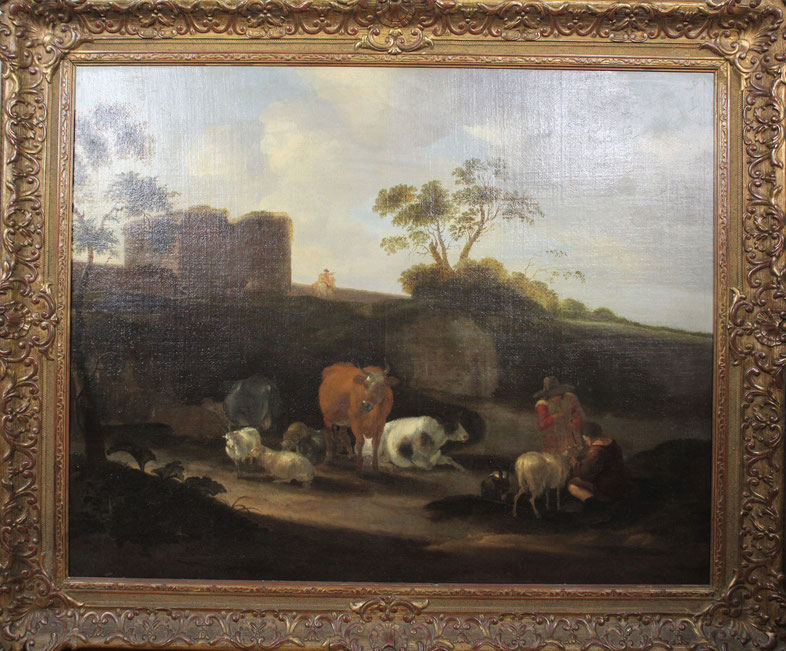 Dirck van Bergen (1645-1699) | Taxatiewaarde: 11.500,= euro