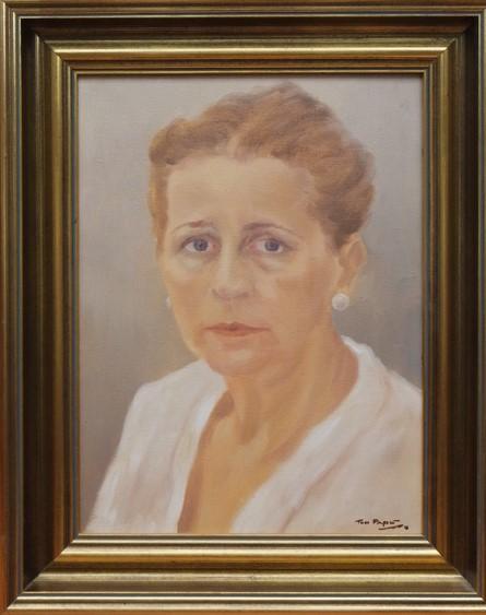 te_koop_aangeboden_een_portret_schilderij_van_de_nederlandse_kunstschilder_ton_pape_1916-2003