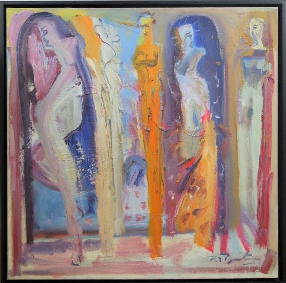 te_koop_aangeboden_bij_kunsthandel_martins_anno_2018_een_modern_schilderij_met_abstracte_compositie_van_richard_lee_barton_1952