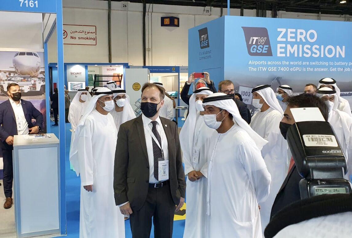 GATE at the Airport Show Dubai