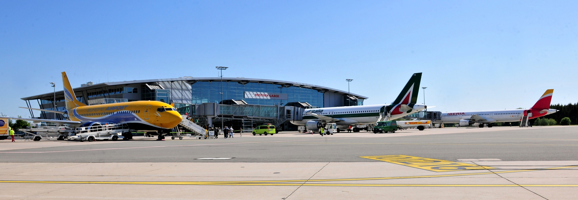 """Materna joins """"Inno Airport"""" environment at Rostock Laage Airport"""