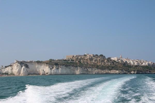 Auf dem Weg zu den Grotten -  Adriaküste - Provinz Foggia