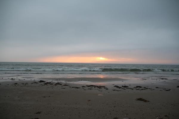 Sonnenuntergang - Saltum Strand