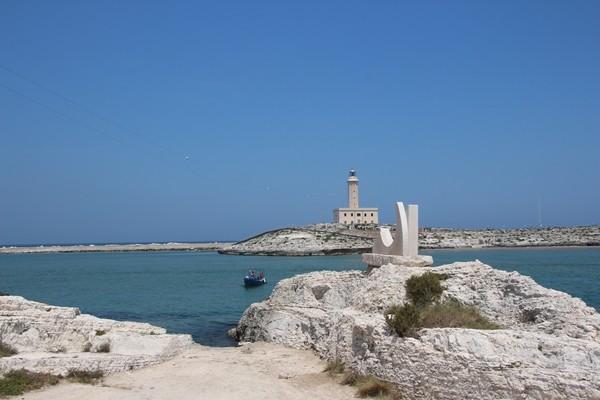 Vieste - Hafen -Apulien