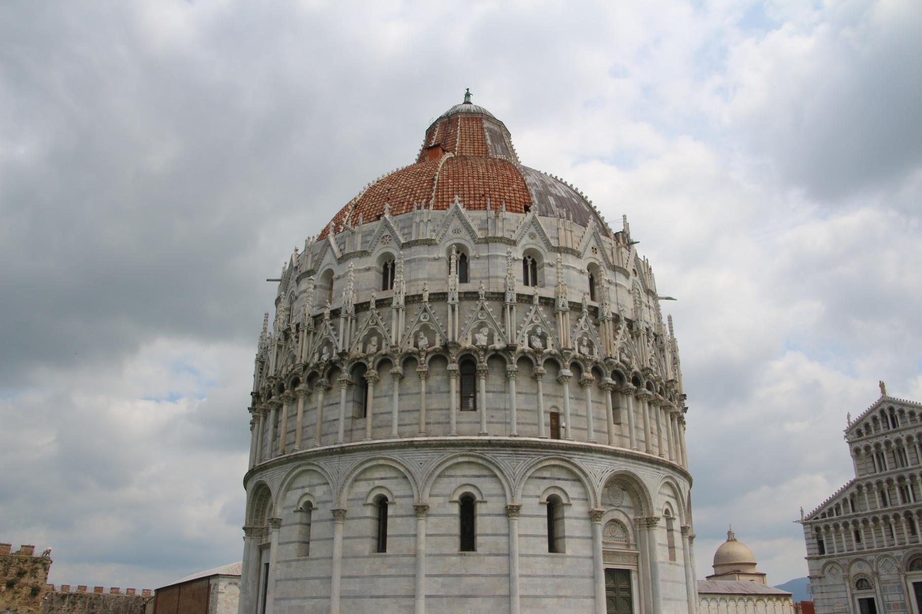 Das Baptisterium - Taufkirche