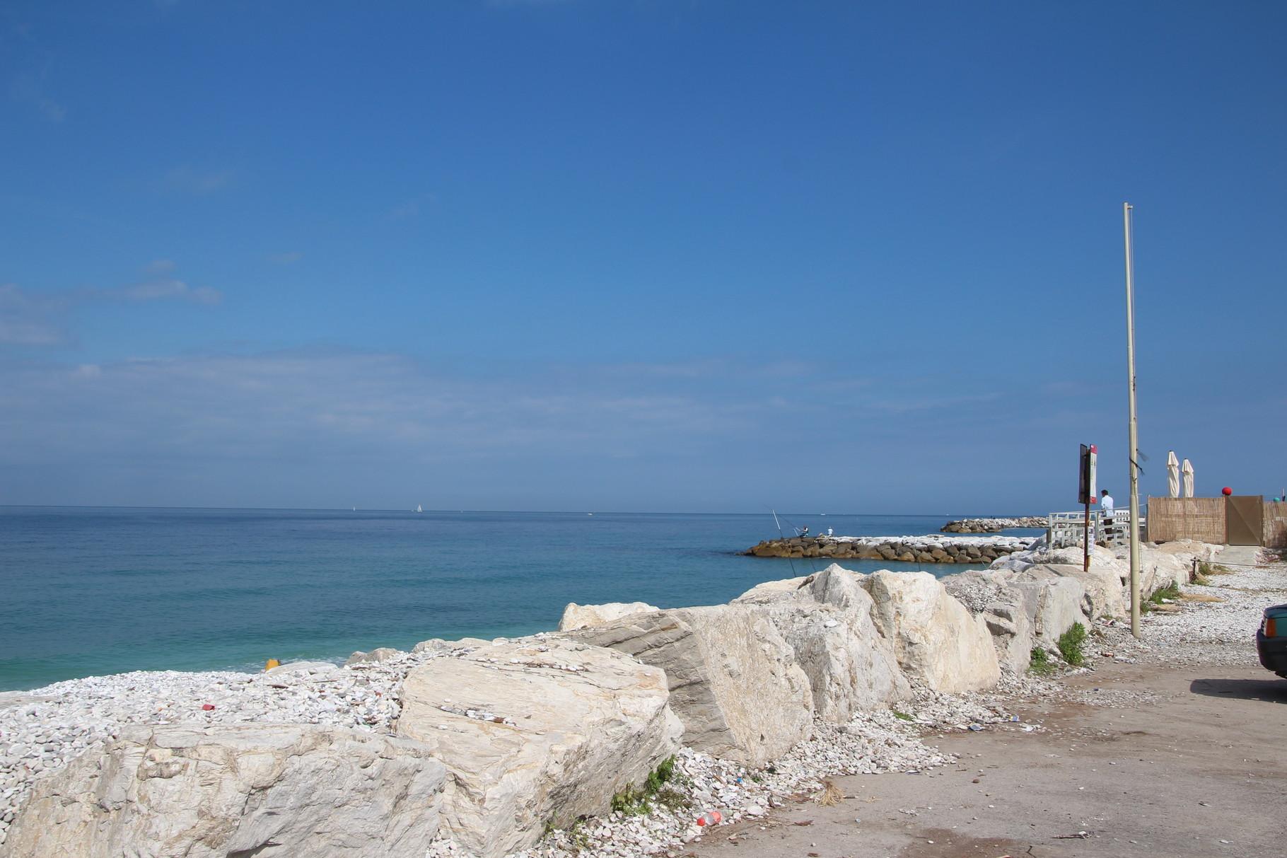 Strand kurz vor Pisa