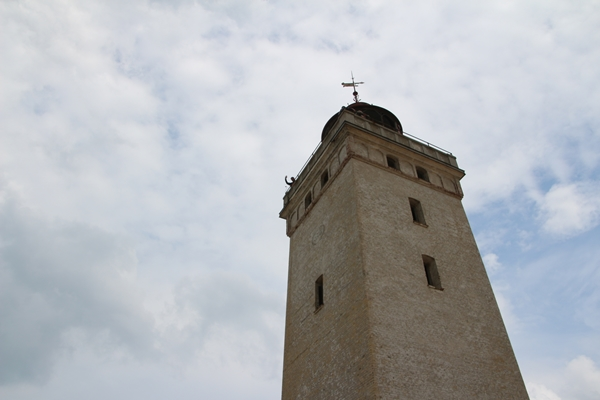 Rubjerg Knude mit dem alten Leuchtturm