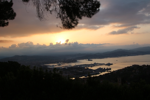 La Spezia  ist eine Stadt in der norditalienischen Region Ligurien