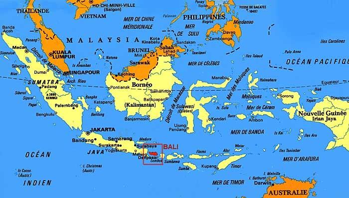 Carte Bali Superficie.Infos Pratiques Voyage A Bali Partir Sur L Ile De Bali