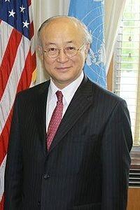 現在の第五代目事務局長は、天野 之弥(あまの ゆきや、1947年5月9日 - )、日本の外交官。