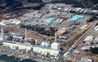 汚染水の移送準備が進む福島第1原発=福島県大熊町で2013年4月15日午前9時48分、本社ヘリから小出洋平撮影