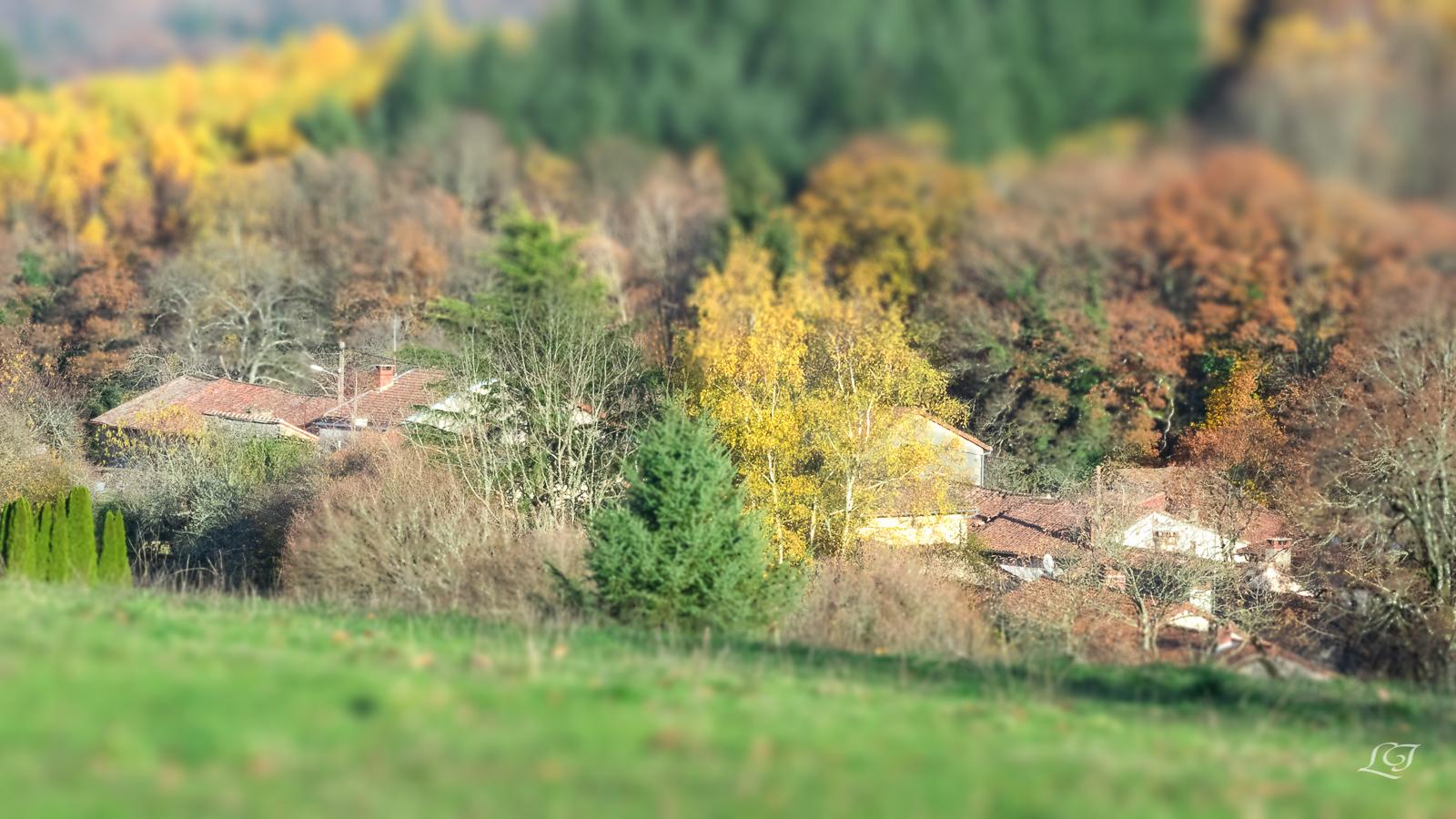 Paysage de St Symphorien sur Couze - photographié par Nathalie Jorland