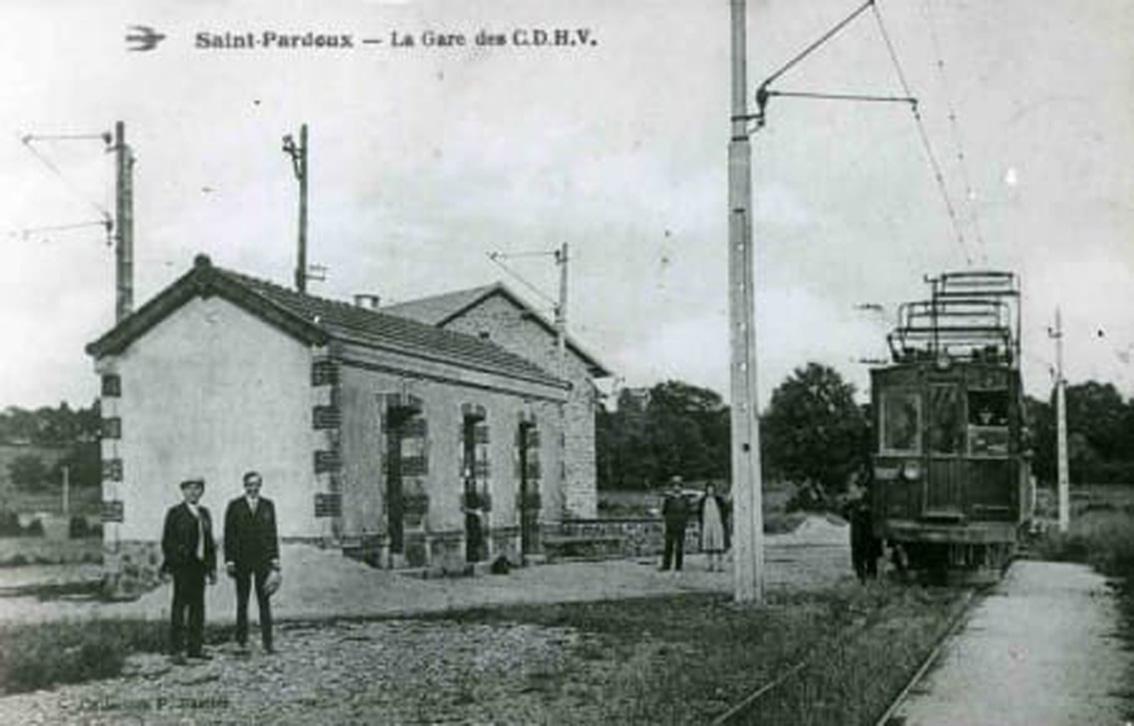 Ancienne gare de Saint Pardoux