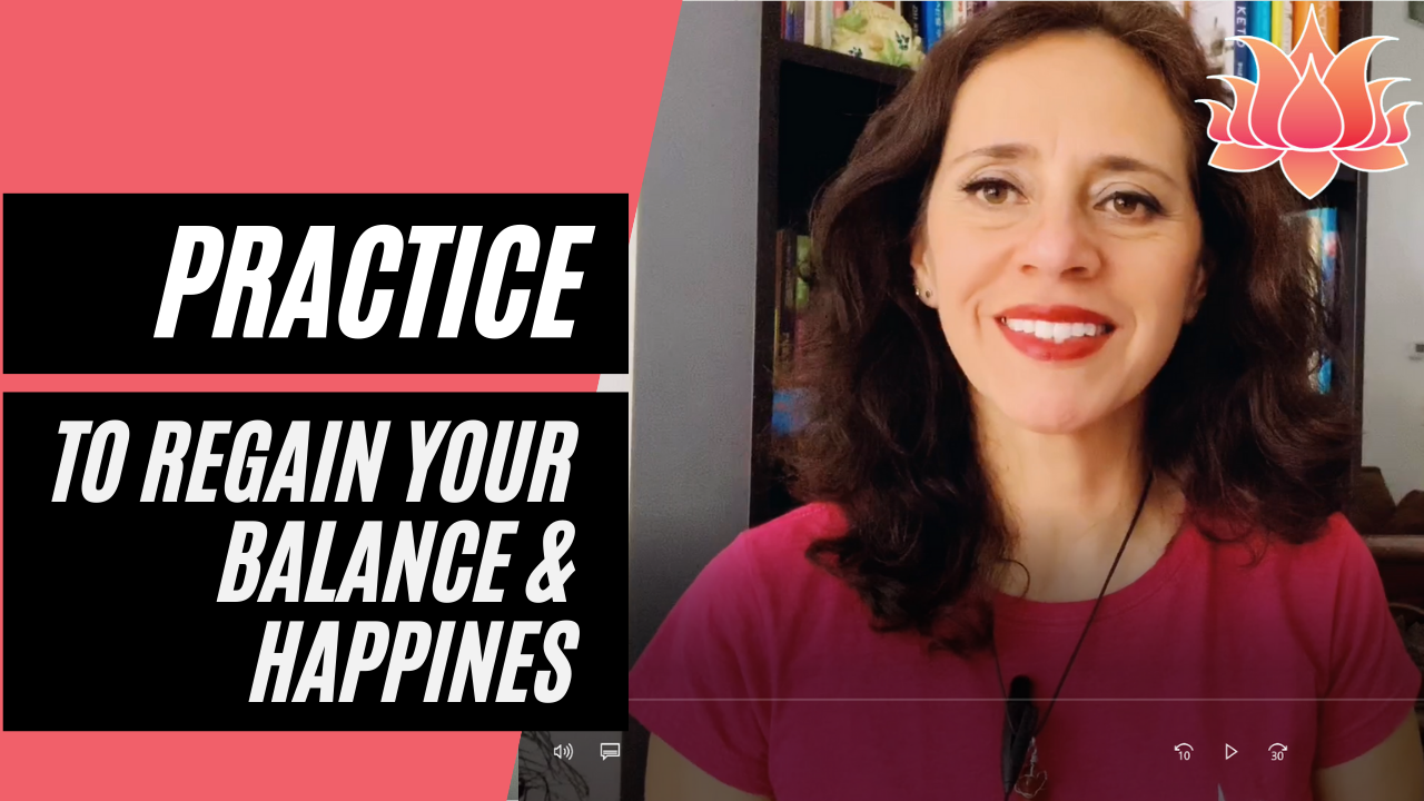 ANXIETY ATTACK MEDITATION practice to regain your balance & happiness