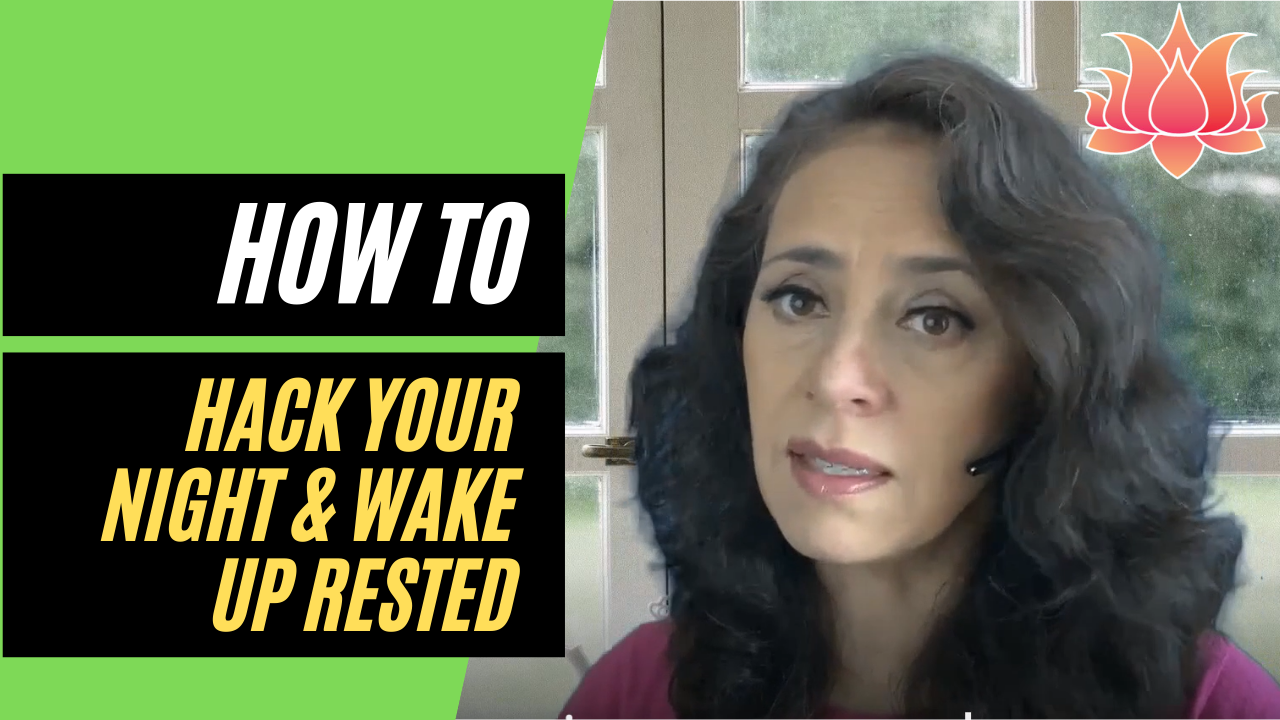ANXIETY AFFECTING SLEEP How to Hack Your Night & Wake Up Rested