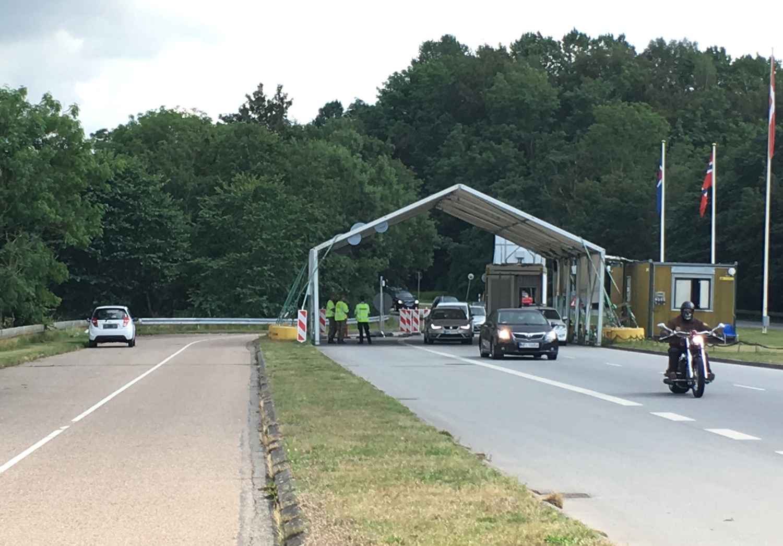 2019 Grenzüberfahrt nach Dänemark :-)