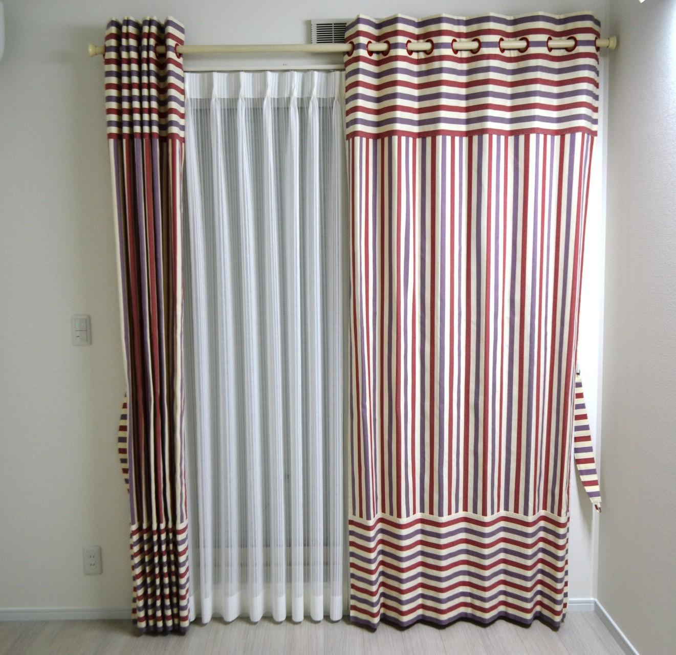 サンゲツデザイン ハトメカーテン