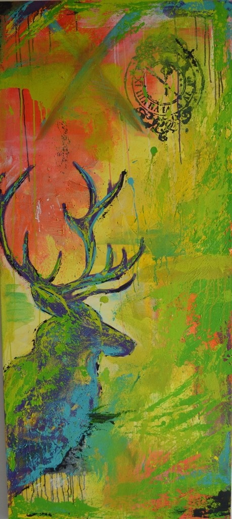 Prachtstück, 2013 150 x 70 cm (verkauft)