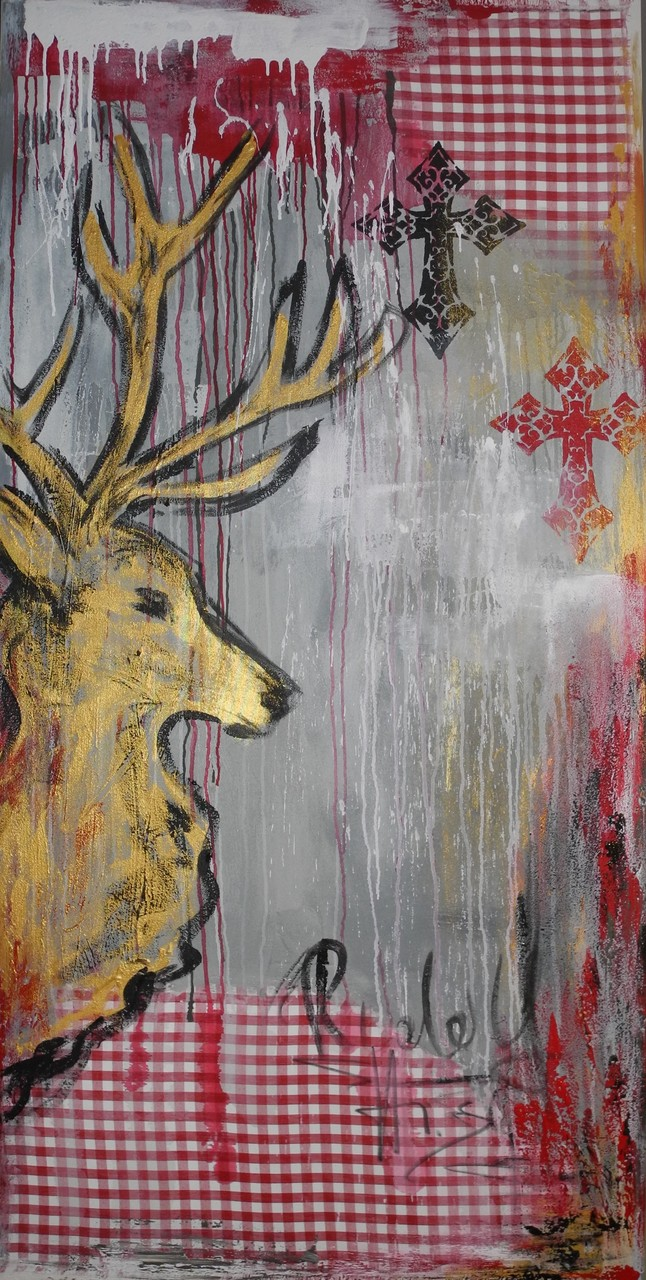 Rudolf, 2014 200 x 100 cm