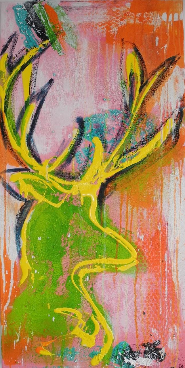 wild style, 2014 100 x 50 cm  (verkauft)