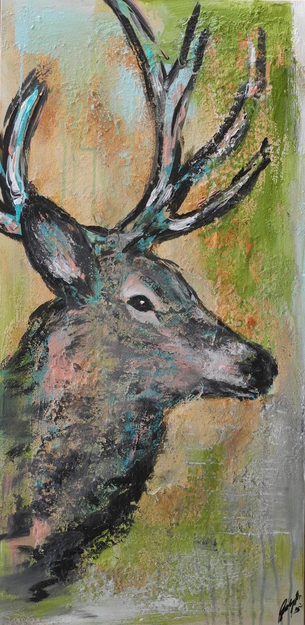 Karl, 2015  80 x 40 cm (verkauft)