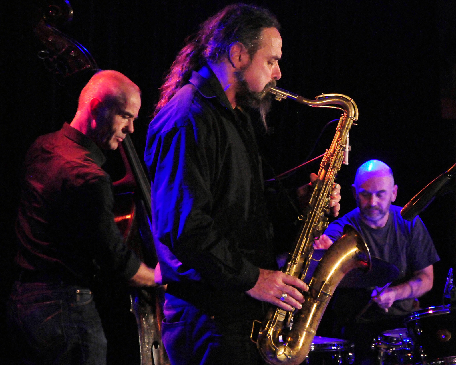 Hiby/Manderscheid/Hession  Jazzmeeting Wuppertal 2015      © Andreas Fischer