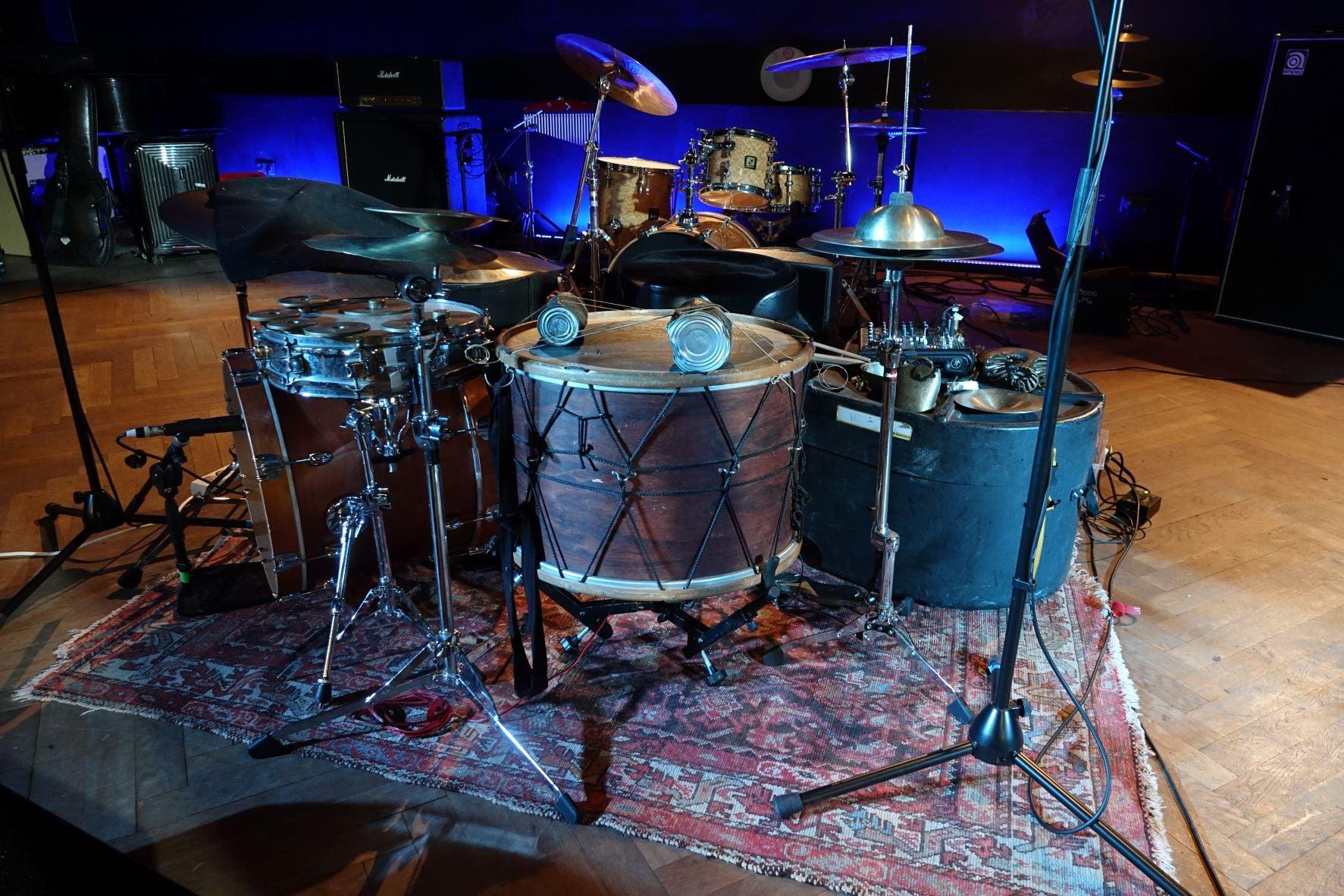 BRÖtz 80! Festival 29.08.2021 Drumset C.Emaille   ©Rainer Loeffner