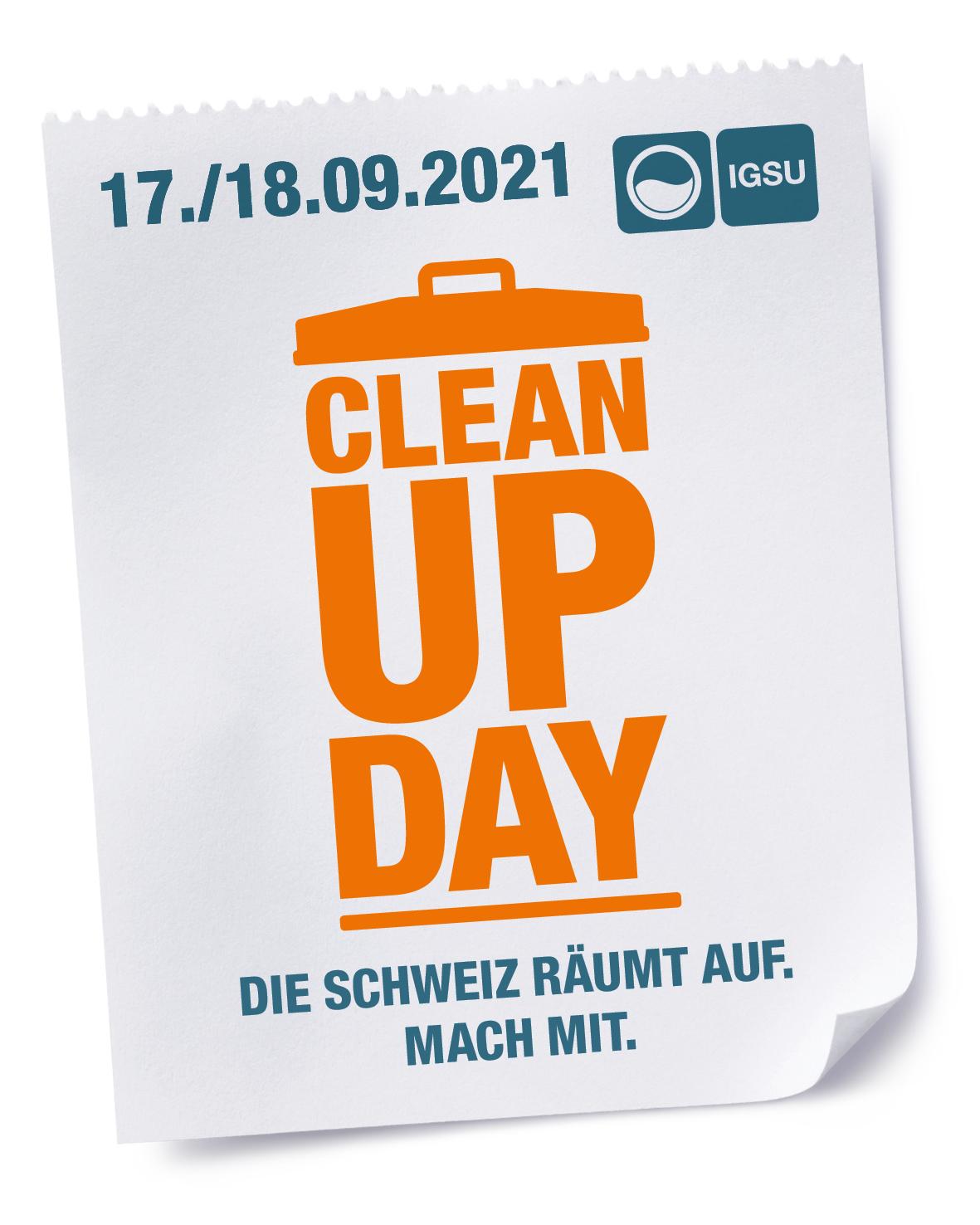 Rheinuferputzete / Clean-Up-Day am Samstag, 18. September 2021