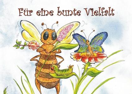 gegen das Bienensterben und Insektensterben - für eine Bunte Vielfalt in der Natur