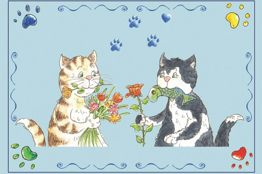 Illustration Katzen