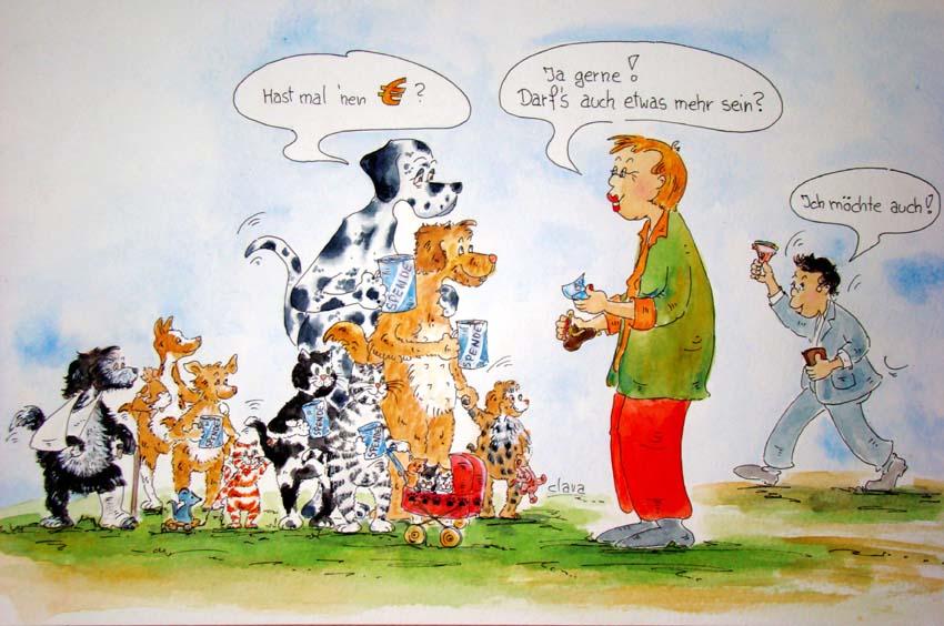 Spende für den Tierschutz