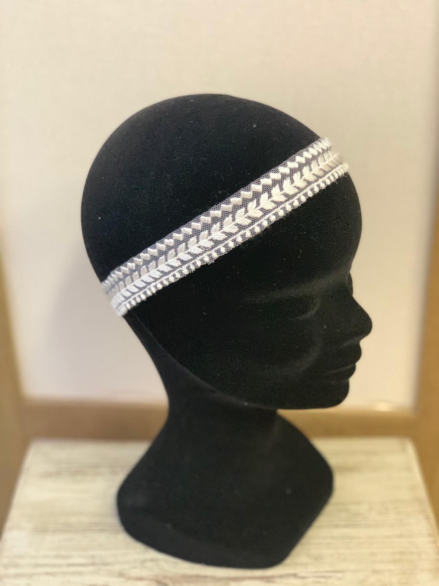 Headband mariée Mélyne