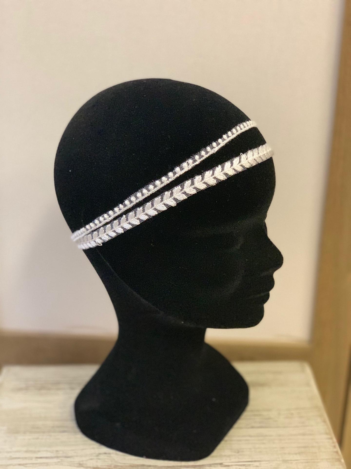 Headband mariée Aléxia
