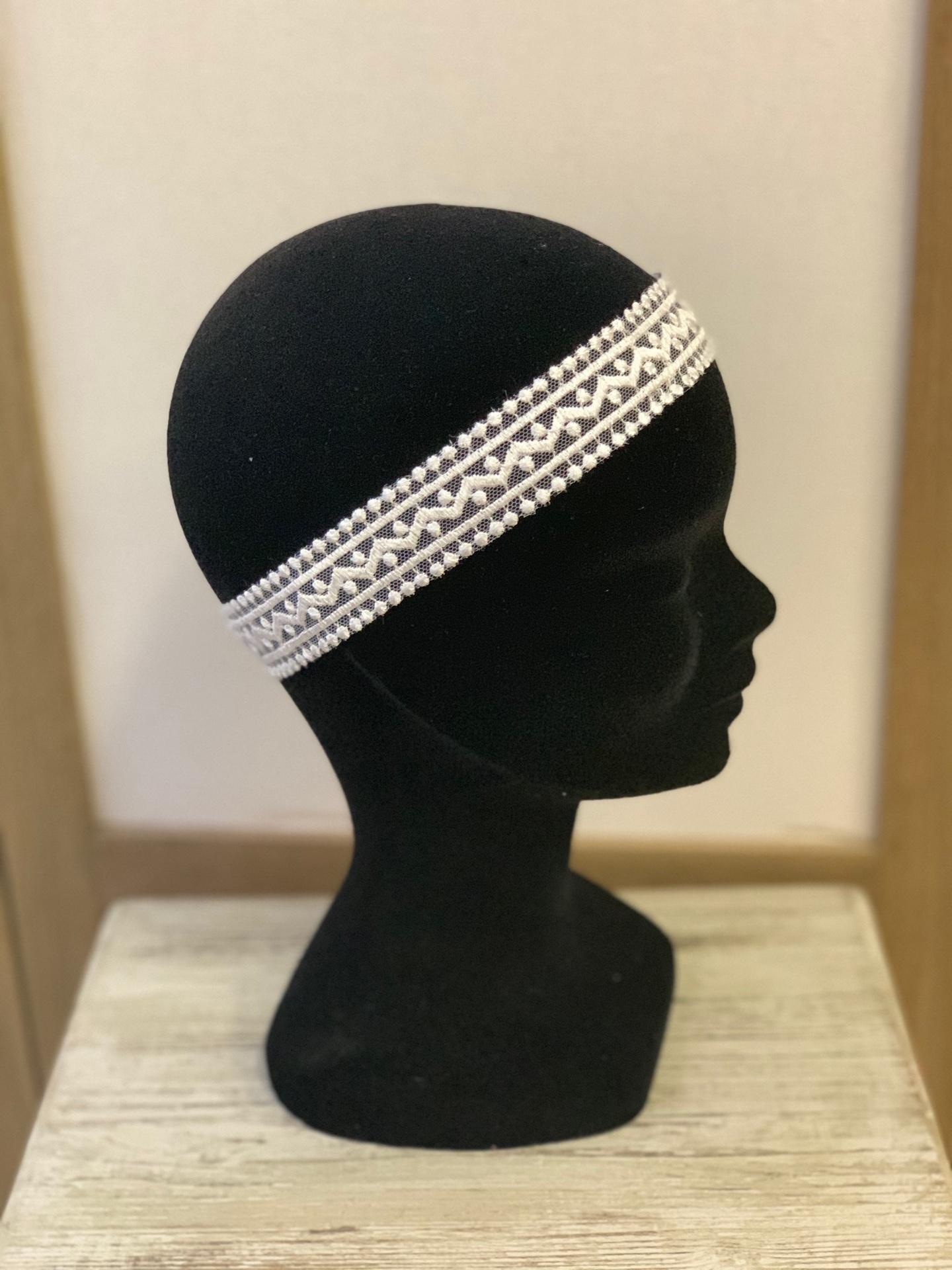 Headband mariée Aglaé