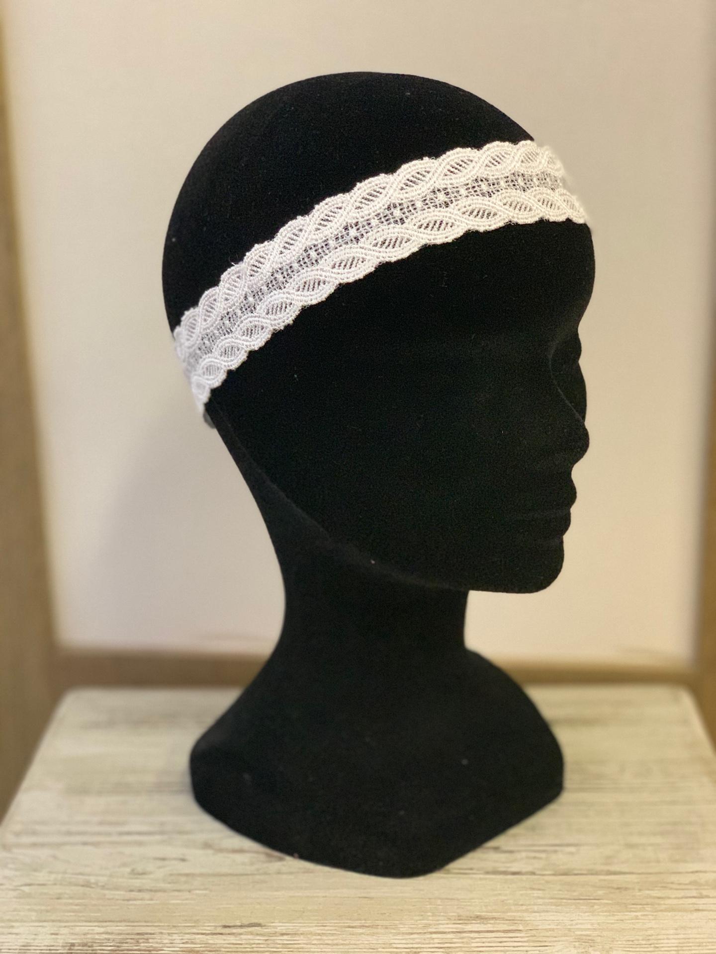 Headband mariée Corine
