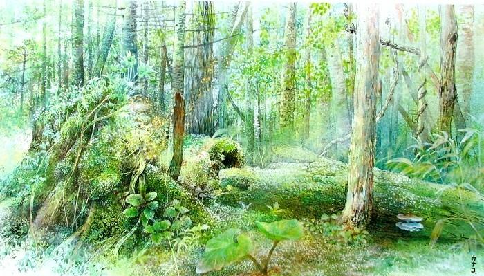 コロボックルの庭