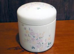 骨壷 秋桜