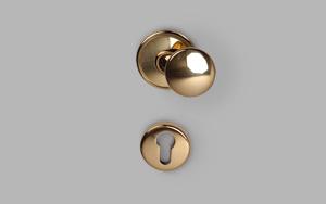 Doorknob polished [KN-07-05-00]