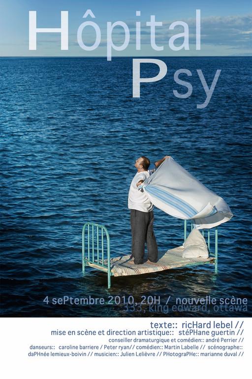 Hôpital Psy - Création In Vivo - Nouvelle Scène - Photographe de théâtre Marianne Duval -2010