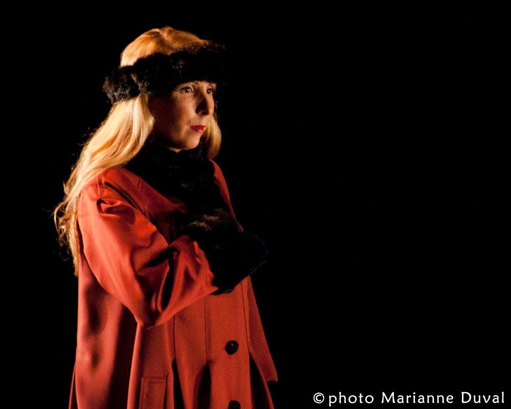 Lina Blais - Frères d'hivers - Théâtre La Catapulte – Nouvelle Scène - Photo Marianne Duval - 2011