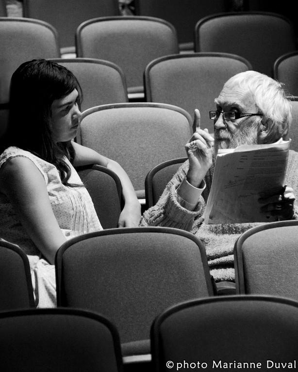 Jasmine Delage & Gilles Provost - Les Outardes-Théâtre de l'Îles - Photographe: Marianne Duval