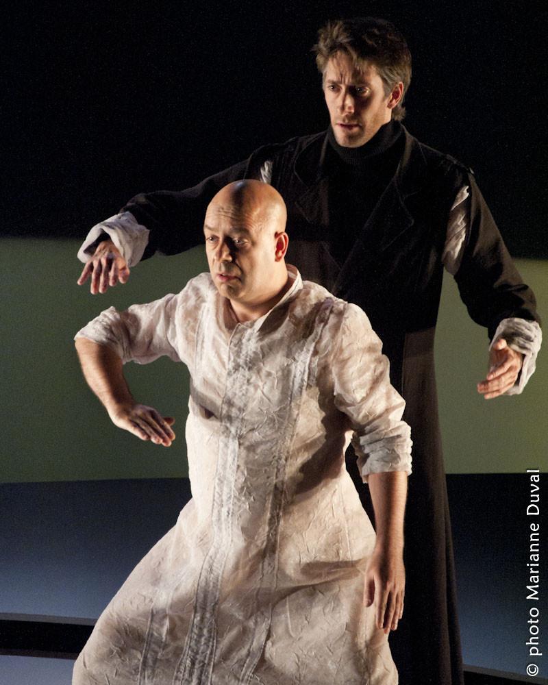 Alain Doom, Pierre Simpson - Frères d'hivers - Théâtre La Catapulte – Nouvelle Scène - Photo Marianne Duval - 2011